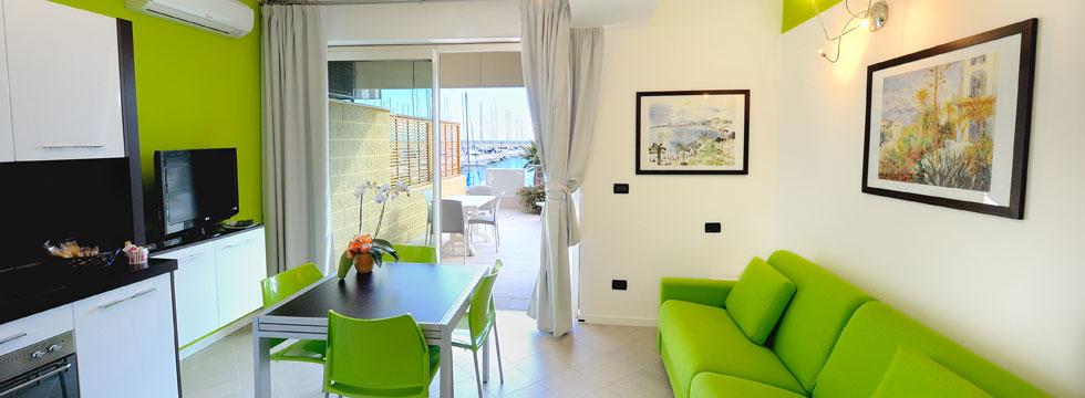 Appartamenti al mare immobiliare gorleri for Appartamento al mare design